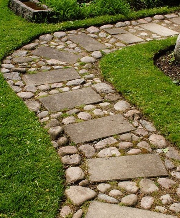 Simple rustic elegance driveway ideas pinterest - Using stone in rustic gardens elegance and drama ...