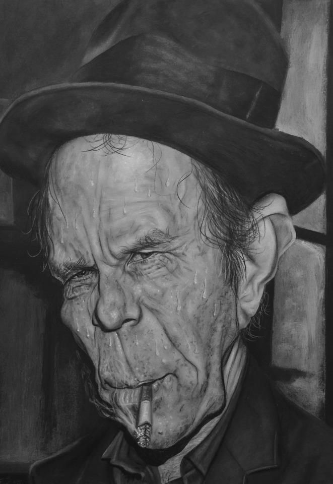 Tom Waits | Caricature Art | Pinterest