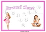 Personalized Reward Chart for Girls | Reward Charts | Pinterest