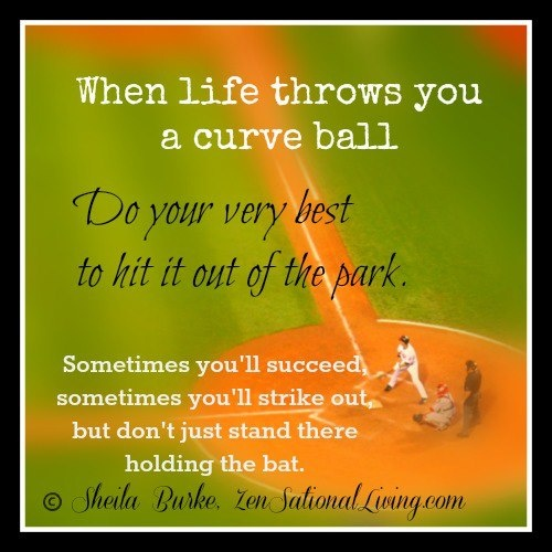 curve ball quotes Pinterest