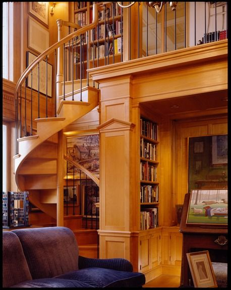Small Home Library Design Ideas Stairways Pinterest