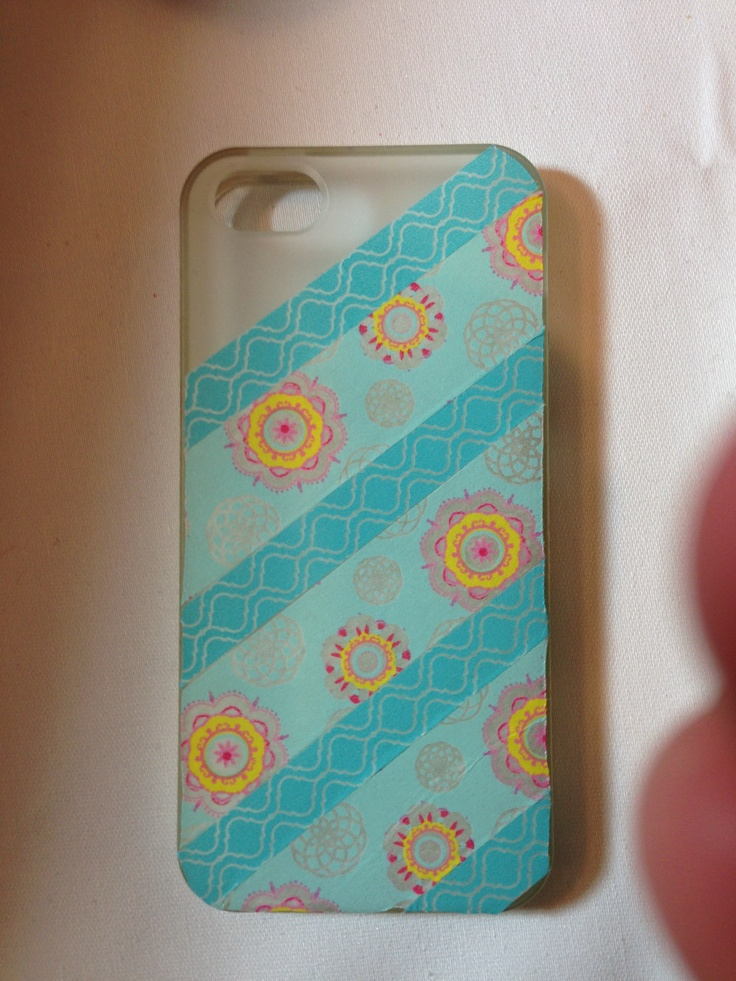 Pinterest discover and save creative ideas for Washi tape phone case
