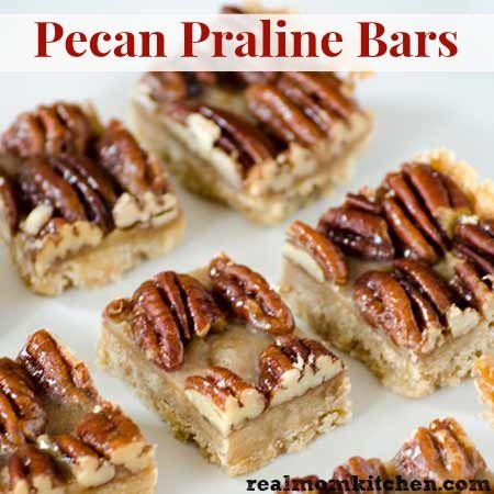 Flashback Friday - Pecan Praline Bars - Real Mom Kitchen