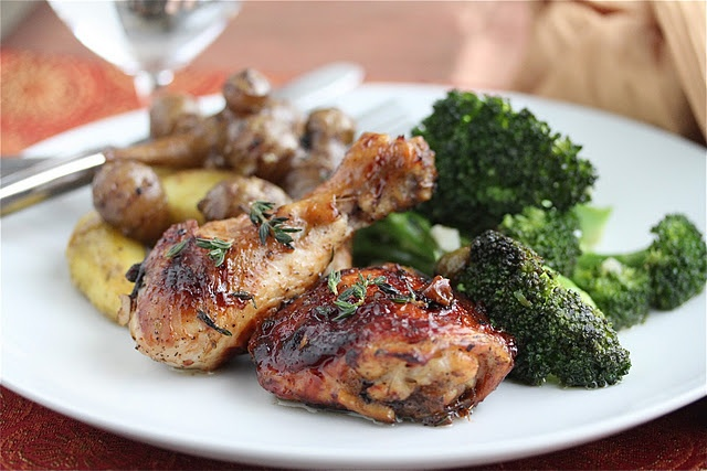 Caramelized Baked Chicken with Green Olives and Prunes from @Jeanette ...