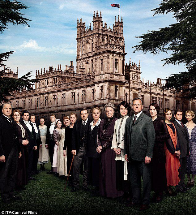 Simply June: Downton Abbey 4 THIS IS GOLD!! It doesn't air in America