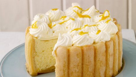 Lemon Charlotte Mascarpone (grams) | Food - Desserts | Pinterest