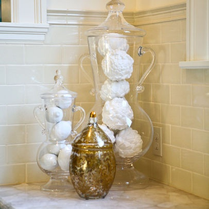 Pin by carol mather on apothecary jars pinterest for Bathroom jar ideas