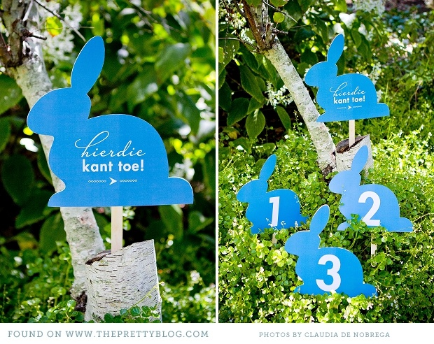 Easter egg hunt cute bunny sign downloads
