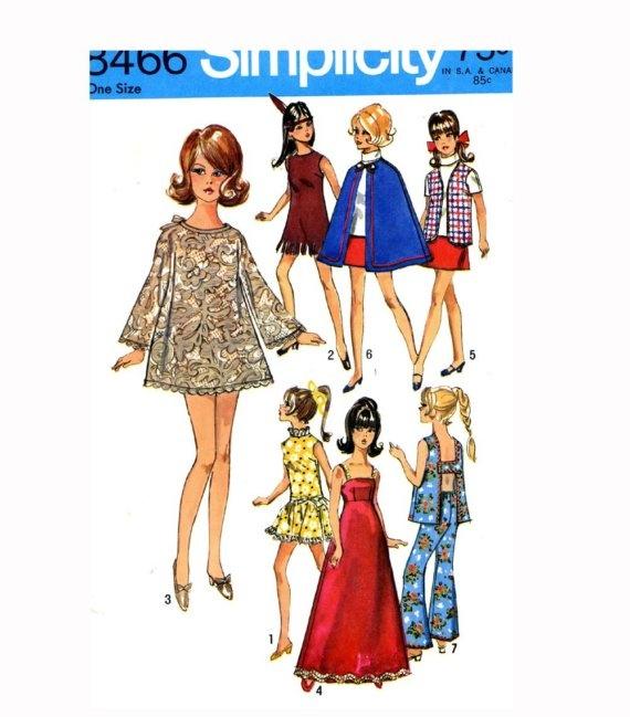 Barbie Clothes Patterns