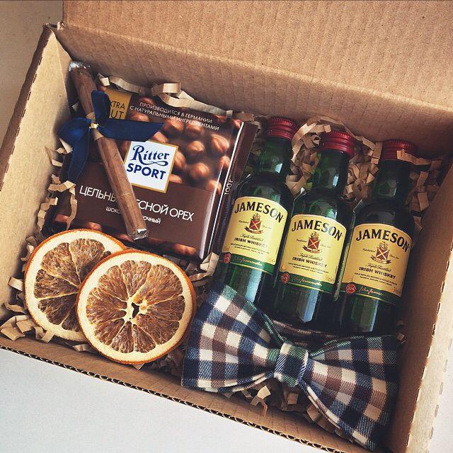 Подарочная коробка для виски своими руками 46