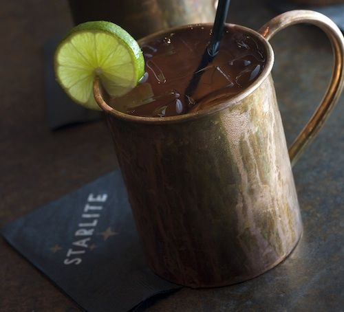Moscow Mule. Definitely a new fav drink.