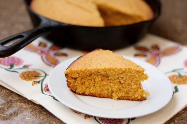 Barefeet In The Kitchen: Roasted Sweet Potato and Spice Cornbread