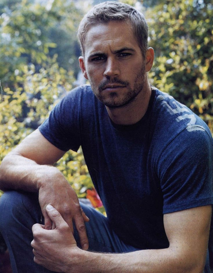 Serious Paul.  :) (Paul Walker)