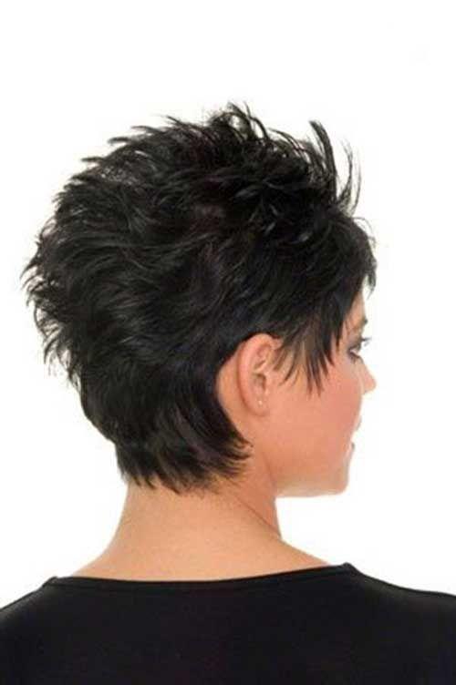 Прически для коротких торчащих волос