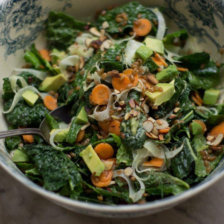 Kale Market Salad Recipe   Salad Recipes   Pinterest
