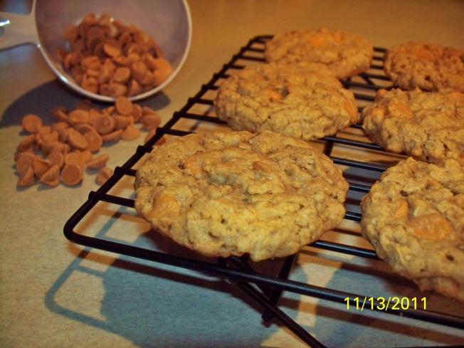 Oatmeal butterscotch cookies | bake/no-bake | Pinterest