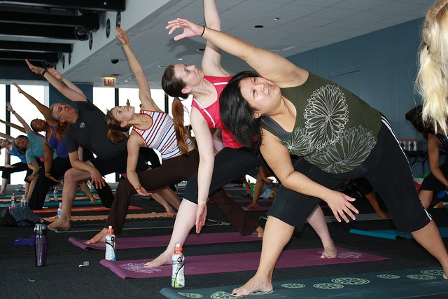 Yoga on The Ledge - The class included a blend of Yoga, Pilates and strength moves.