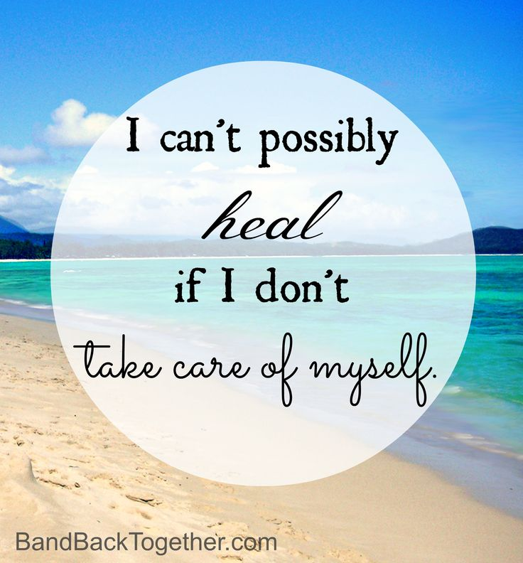 You deserve to take care of yourself. #edrecovery #selfcare #heal