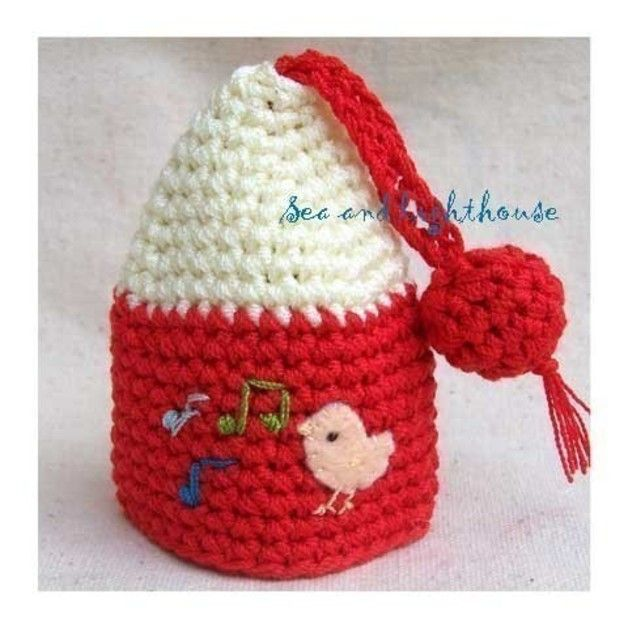 Crochet Patterns Key : +Crochet+Patterns - PDF Crochet Pattern - Sweety Bird house Key ...