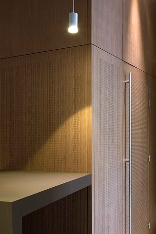 Panele ścienne zastosowane w pokoju