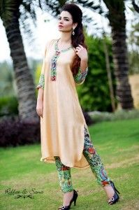 Riffat And Sana Eid Collection 2013 For Women 003