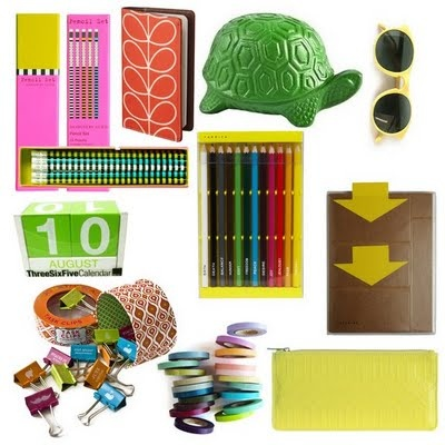 happy school supplies!