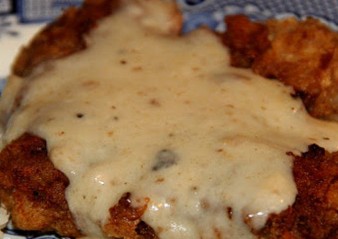 Country Fried Steak and Gravy recipe. Delicious! Make sure to get all ...