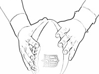 Super Bowl coloring pages | Craft ideas with the kids | Pinterest