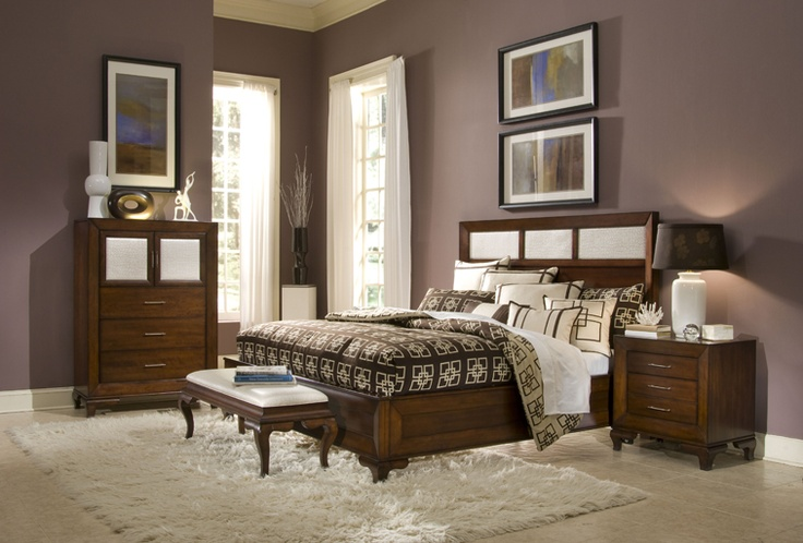 our beautiful new bedroom set mor furniture michael amini portrait