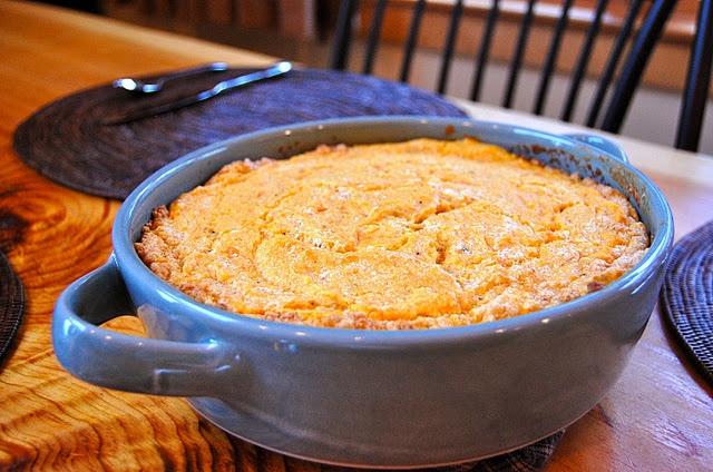 Sweet Potato Spoon Bread   Recipes   Pinterest