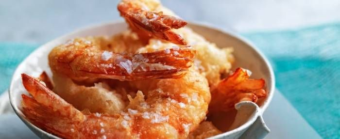 Spicy Alaskan Spot Prawns With Fried Basil Recipes — Dishmaps