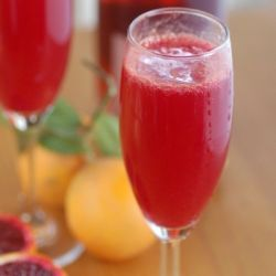 Blood Orange Mimosas | Drinks