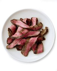 Grilled Balsamic-and-Garlic Flank Steak Recipe from Food & Wine