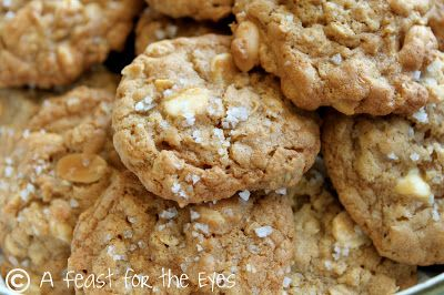 Salted Vanilla Bean White Chocolate Multigrain Cookie Recipes ...