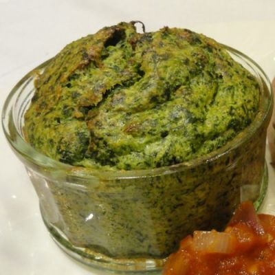 Homemade spinach souffle | TOP OF THE LIST | Pinterest