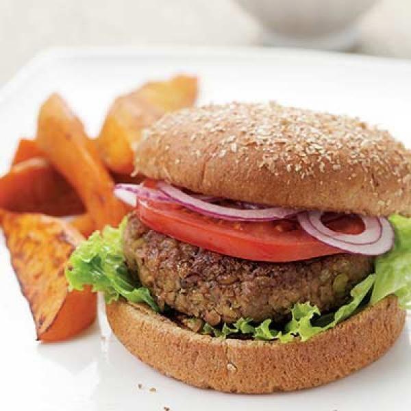 Lentil Burgers | KitchenDaily.com