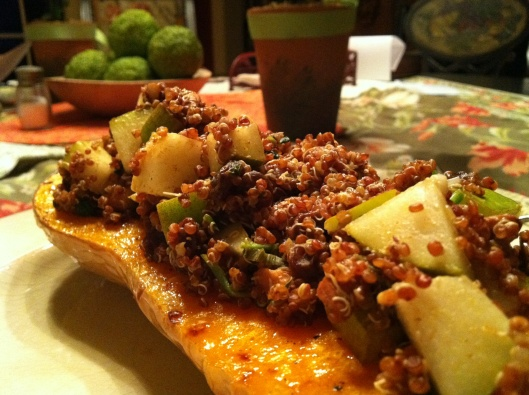 butternut squash boats | all things food | Pinterest