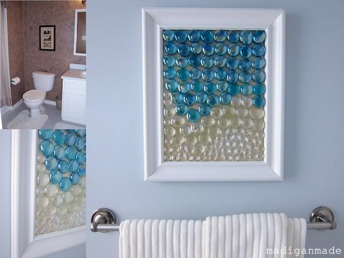 Beach Glass Bathroom Ideas : Pin by camille dawn on diy projects