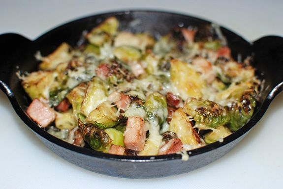 Brussels Sprouts Gratin | Meatless | Pinterest