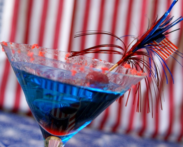 july 4th holiday drinks
