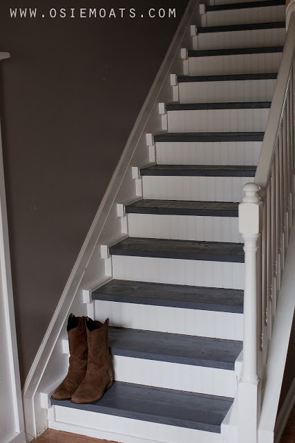 Iy 50 stair makeover diy for the home pinterest for Diy staircase makeover