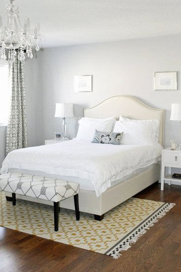 Share photos of your home for Bedroom rug placement