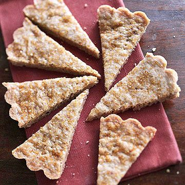 Maple-Pecan Shortbread Orange peel adds a touch of zest to this tender ...