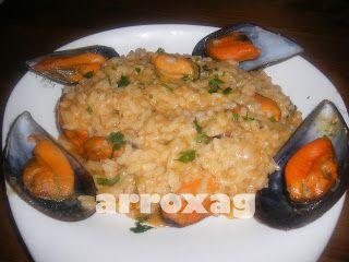 arroz con mejillones