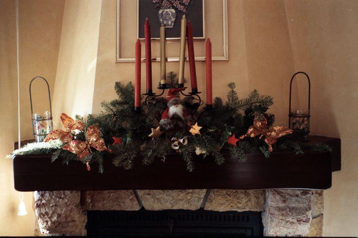 Decoracion navide a decoracion puertas y chimeneas - Chimeneas gonzalez ...