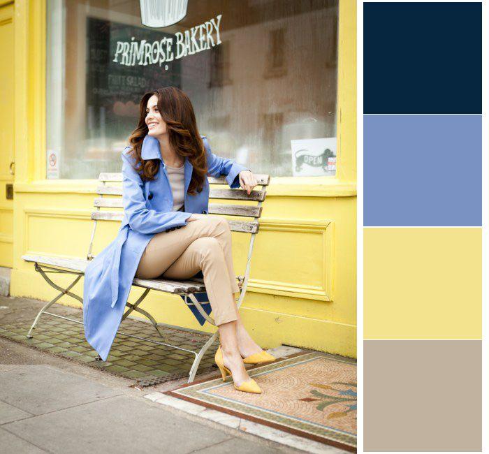 navy, yellow, beige, blue...love.
