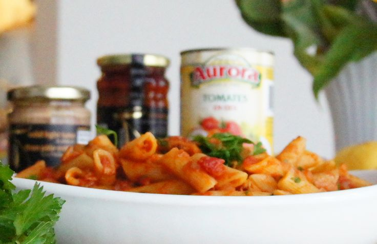 Pasta with Spicy Tuna Sauce | Recipe