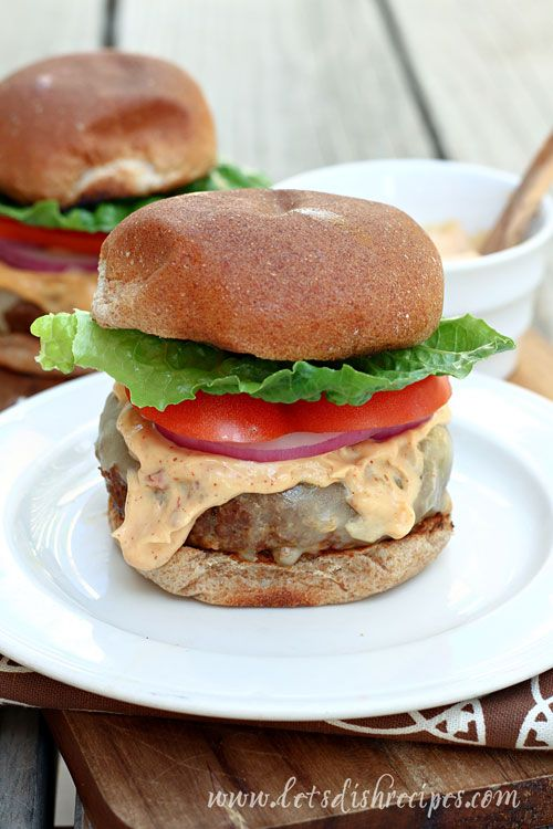 Chile Cheese Chipotle Stuffed Cheeseburgers | Recipe