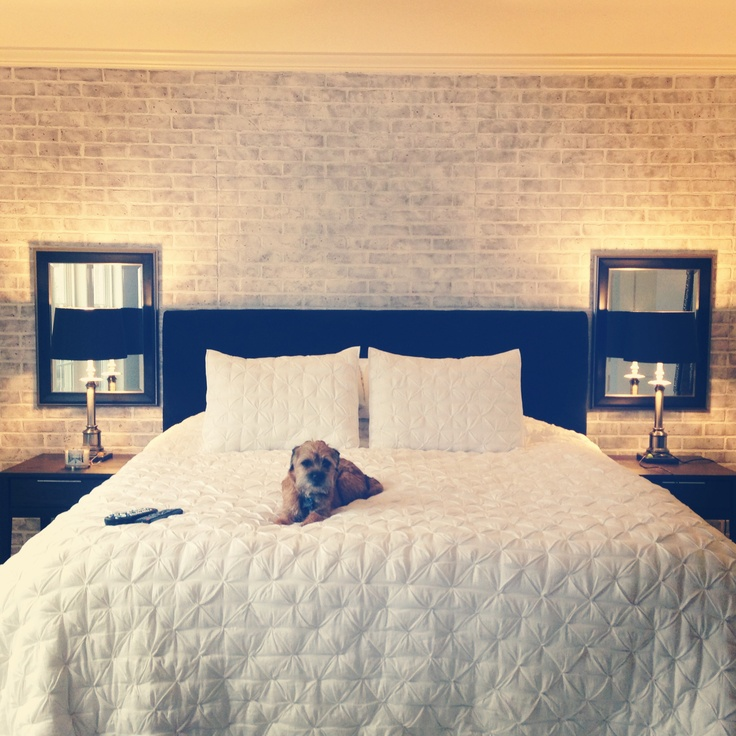 Brick Wall Bedroom For The Home Pinterest