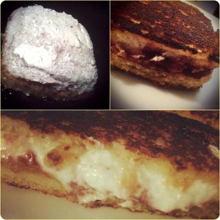 From sangha farms i then used my trusty wonder bread crust cutter